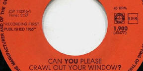 1966 Can You Please Crawl Out Your Window