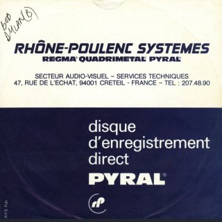 rhône poulenc Poulenc grew up in a musical household his mother was a capable pianist, with a wide repertoire ranging from classical to less elevated works.